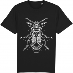 Beetle Tee (White graphic)
