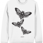 Moth Jumper (White)